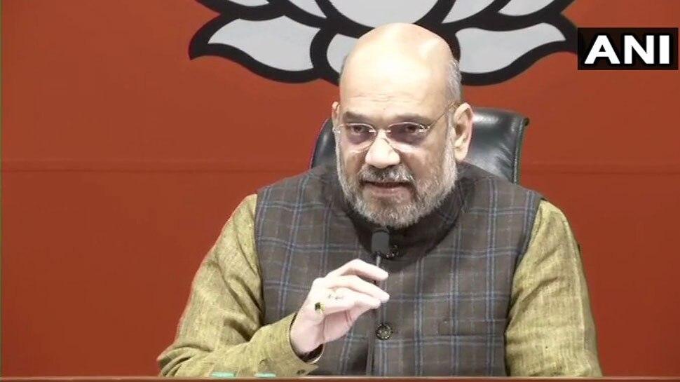 अमित शाह ने राहुल गांधी से पूछा, 'राफेल सौदे में आपने किस आधार पर आरोप लगाए'