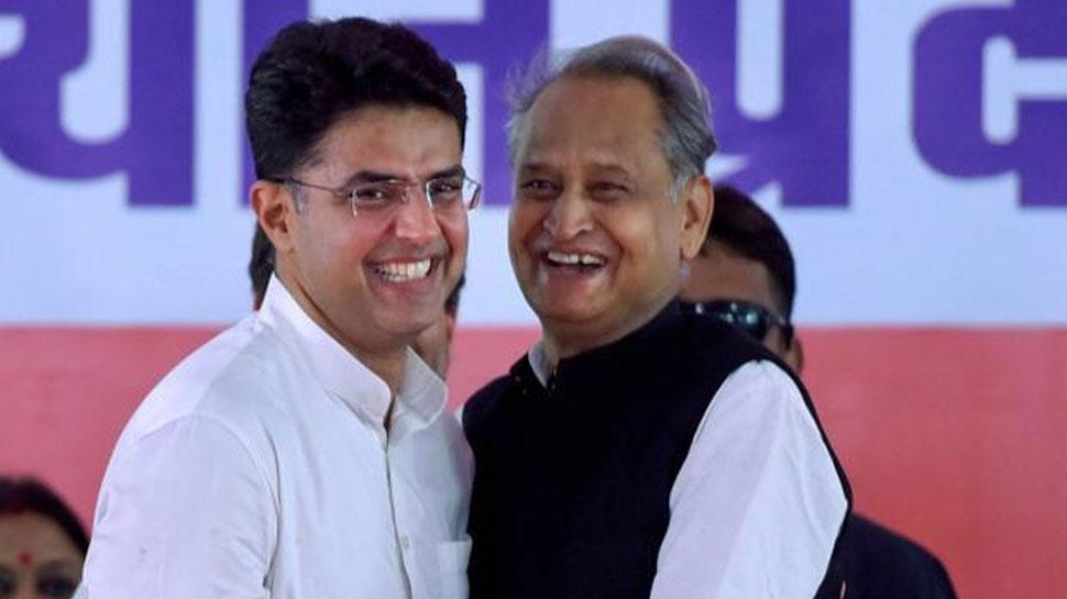 जयपुर: 'जनपथ' पर होगा गहलोत और पायलट का शपथ ग्रहण समारोह, तैयारियां जोरों पर