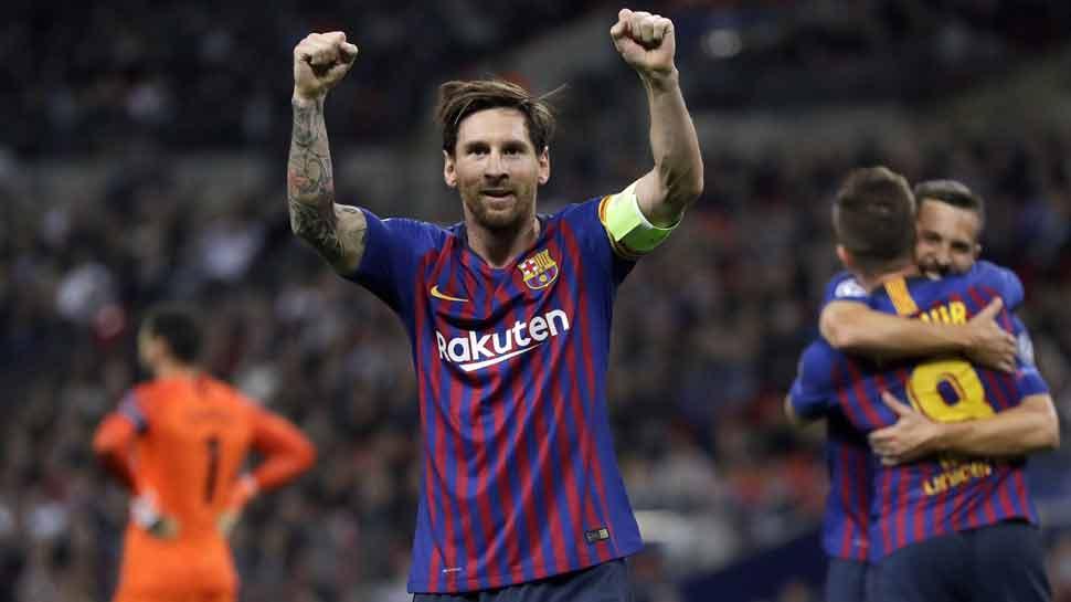 La Liga: बार्सिलोना के लियोनेल मेसी 2018 में 50 गोल करने वाले पहले खिलाड़ी बने, हैट्रिक जमाई