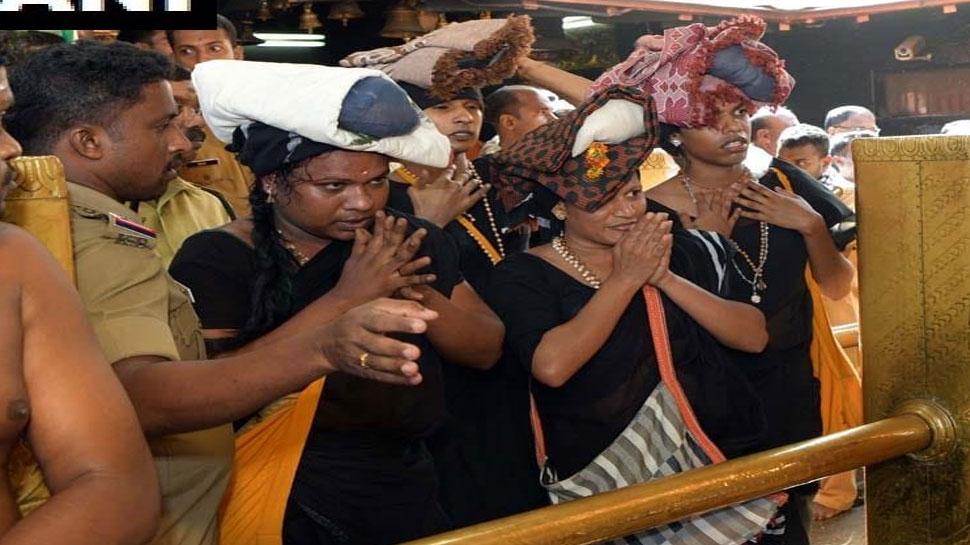 सबरीमाला मंदिर: ट्रांसजेंडर समुदाय के 4 लोगों ने भगवान अयप्पा के किए दर्शन