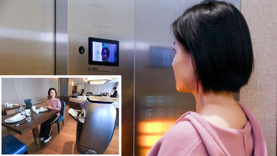 इस होटल में रोबोट परोसते हैं खाना, सिर्फ एक इशारे में ले लेते हैं ग्राहकों का ऑर्डर