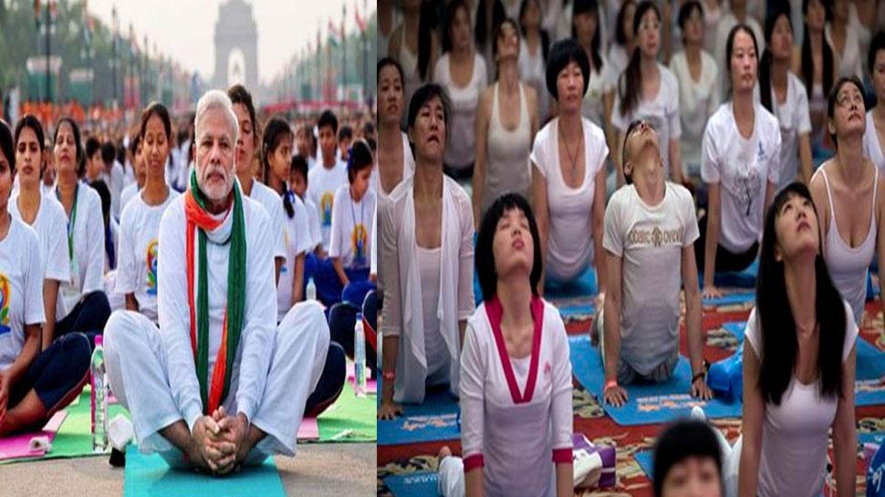 PM मोदी की मेहनत लाई रंग, भारत और चीन के दिलों को जोड़ेगा 'योग'