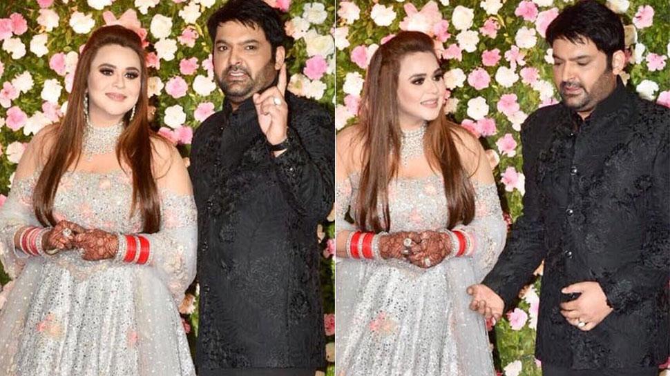 मुंबई में कपिल शर्मा और गिन्नी ने दी शानदार रिसेप्शन पार्टी, लगा छोटे पर्दे से लेकर बॉलीवुड सितारों का मेला