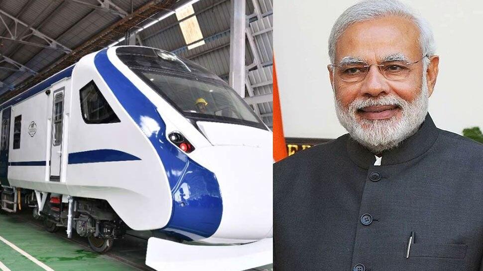 Train 18 likely to run between Varanasi to New Delhi Narendra Modi ...