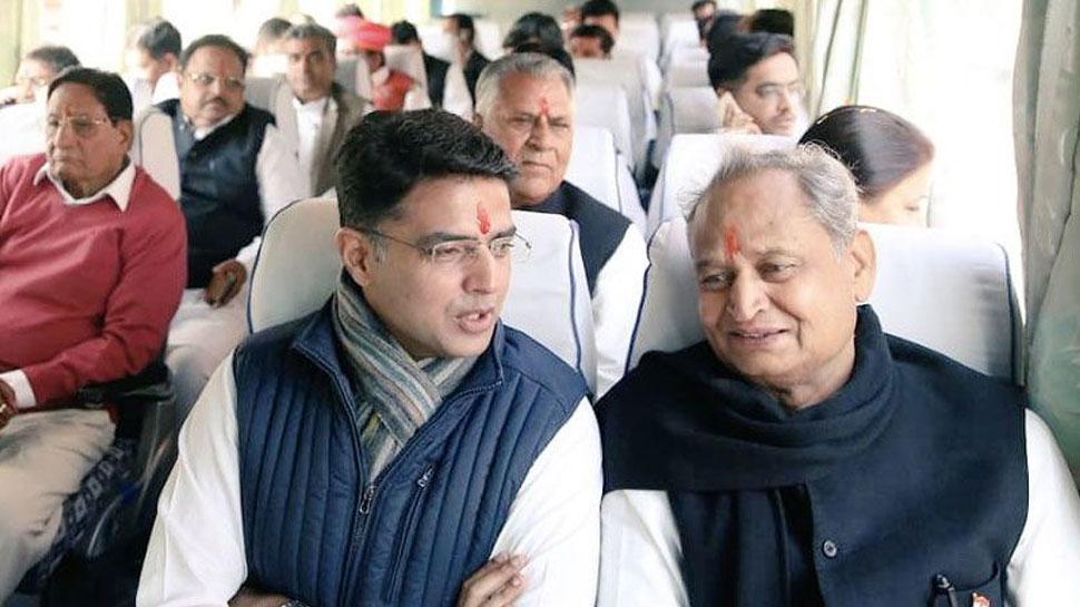 rajasthan government cm ashok gehlot first cabinet meeting ...