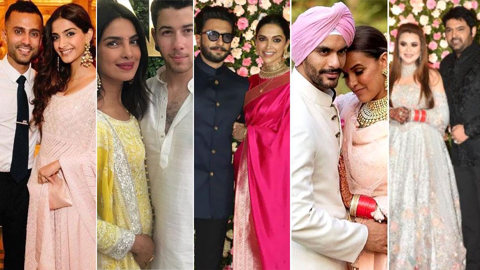 Year Ender 2018: बॉलीवुड में रही शादियों की धूम, हमेशा के लिए एक-दूजे के हुए ये सितारे