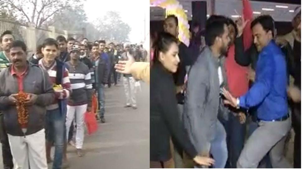 नए साल के जश्न में डूबा बिहार, पार्क-होटल से लेकर मंदिरों तक में लोगों की भारी भीड़