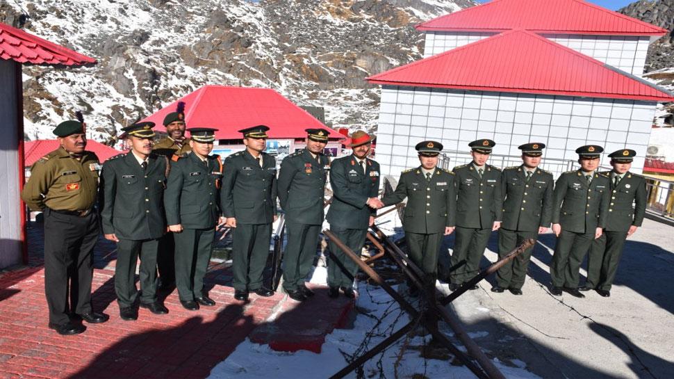 नए साल पर भारत और चीन की सेनाओं की नाथू ला में हुई बैठक