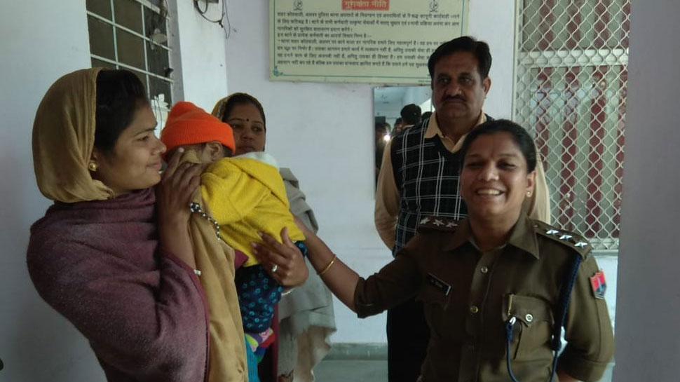अलवर बच्चा चोरी मामला: पुलिस को मिली सफलता, आरोपी महिला को गिरफ्तार