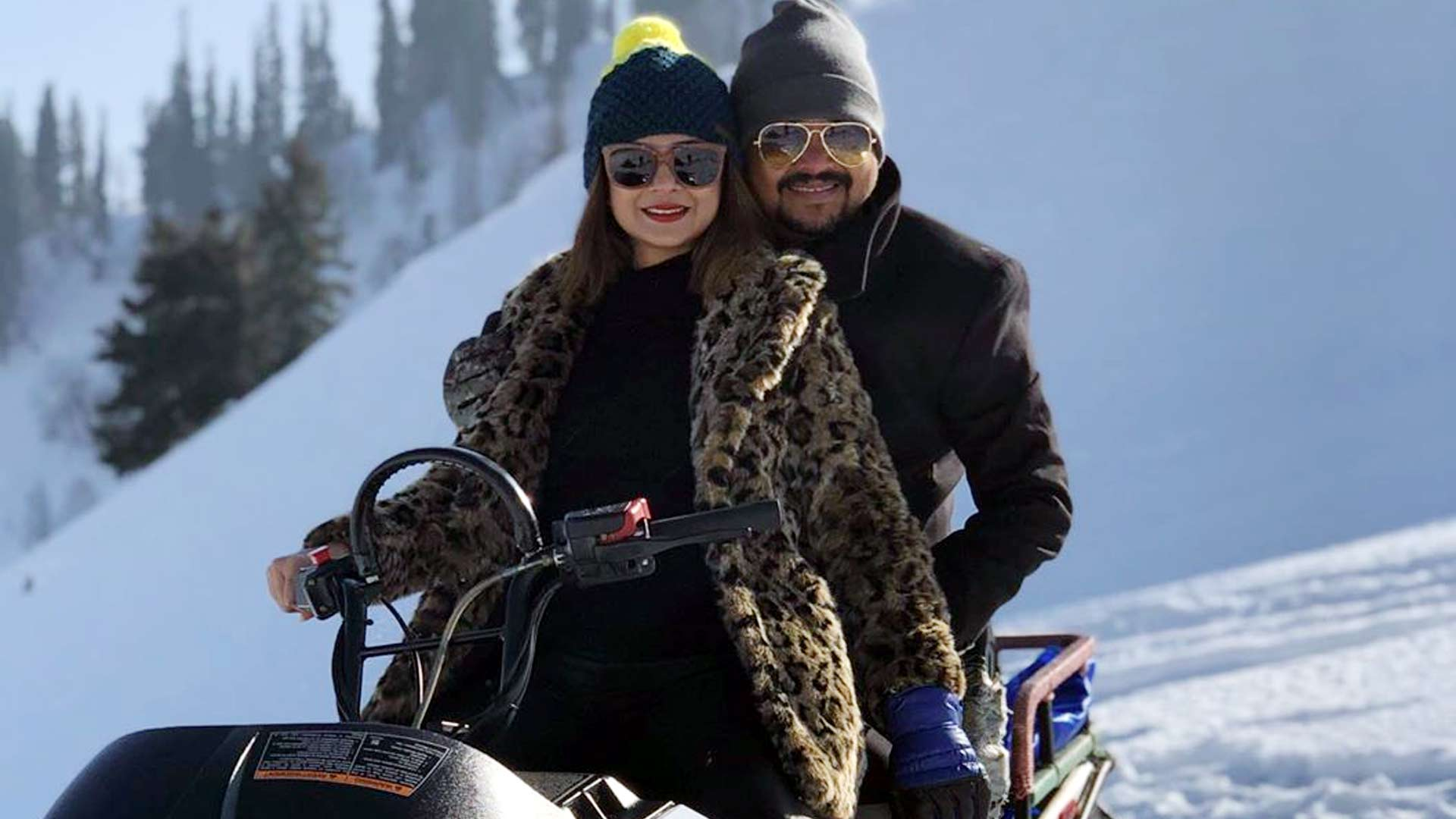 Jennifer Winget's Kashmir Holiday