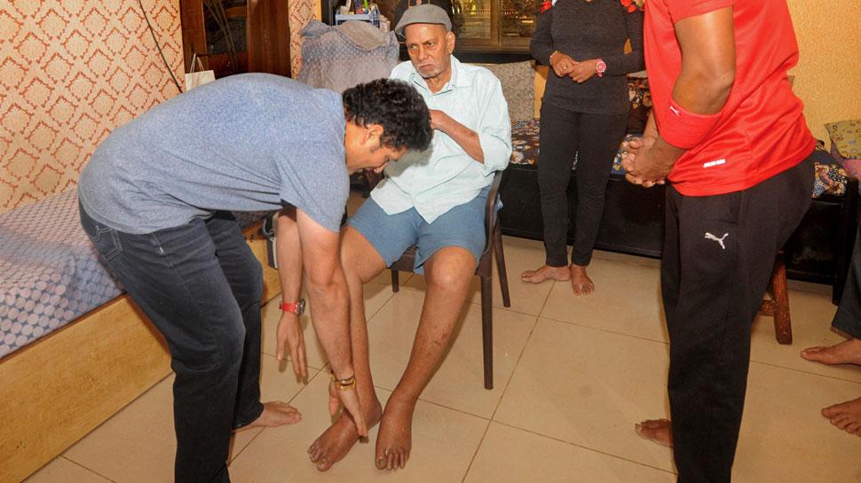 गुरु रमाकांत आचरेकर के एक थप्पड़ ने बदल दी थी सचिन तेंदुलकर की जिंदगी