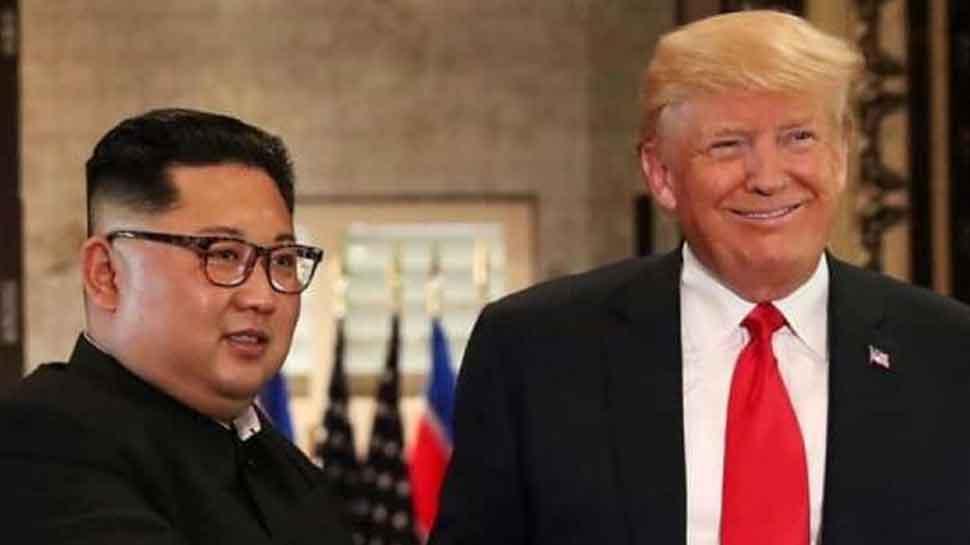 डोनाल्ड ट्रंप बोले, 'उत्तर कोरियाई नेता किम का 'बहुत अच्छा' पत्र मिला है'
