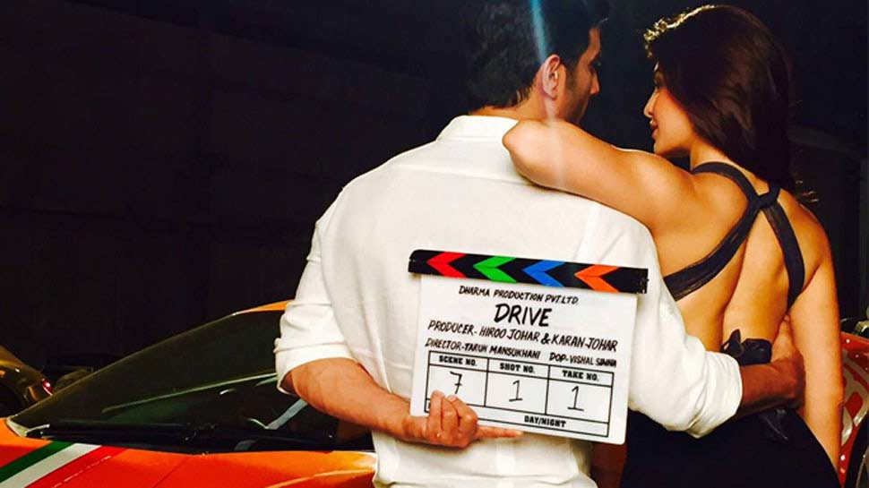 इस दिन रिलीज होगी सुशांत-जैकलीन की 'ड्राइव', करण जौहर ने ट्वीट किया टीजर