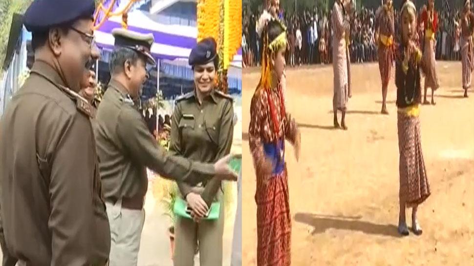 झारखंड आर्म्ड पुलिस की प्रथम वाहिनी का स्थापना दिवस, आनंद मेले का किया गया उद्घाटन