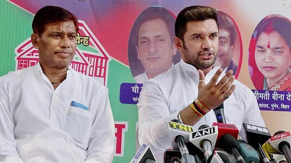 CM नीतीश को मिला लोजपा नेता का साथ, सरकार पर सवाल उठाने वाले BJP सांसदों को घेरा
