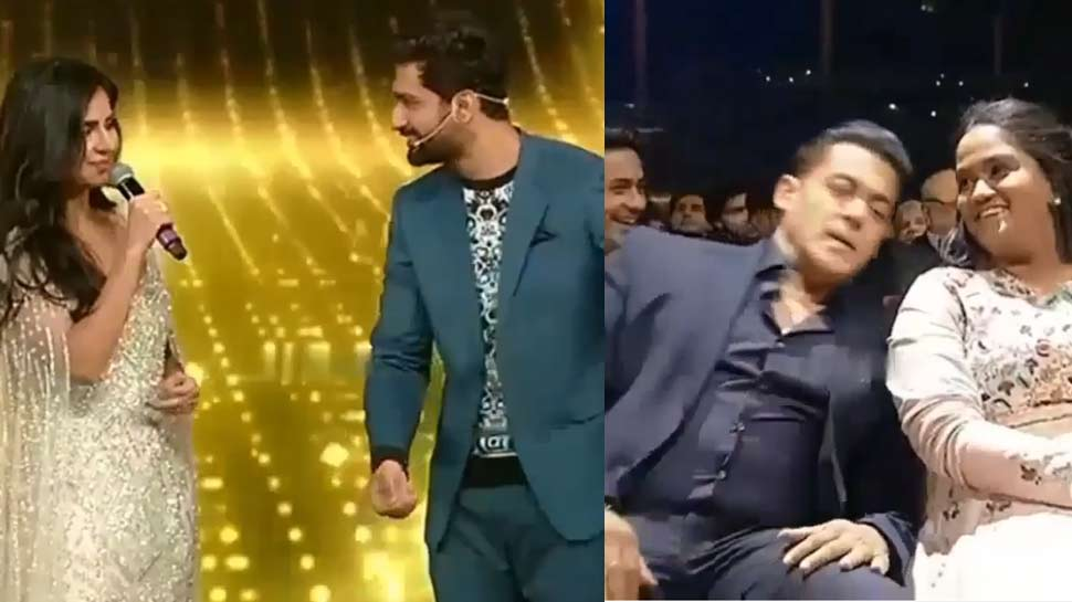 VIDEO: विक्की कौशल ने सलमान खान के सामने किया कैटरीना को प्रपोज, फिर हुआ ये...