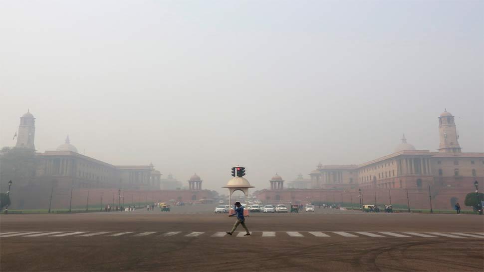 दिल्ली में हवा की गुणवत्ता में मामूली सुधार, 'गंभीर' से 'बेहद खराब' श्रेणी में पहुंची