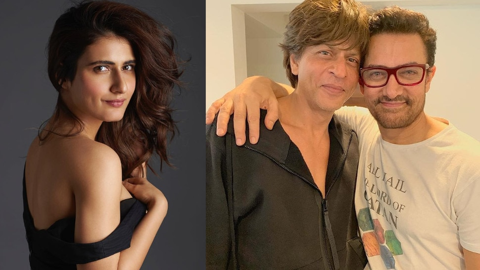 आमिर खान के बाद अब शाहरुख खान के साथ रोमांस करती नजर आएंगी फातिमा सना शेख..?