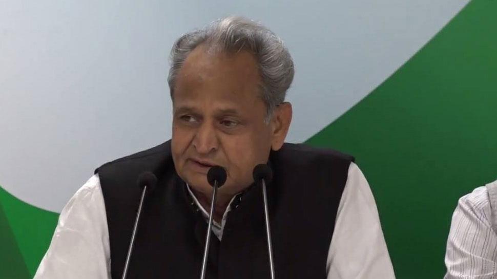 सवर्ण आरक्षण: CM गहलोत का बयान, कहा- सबसे पहले कांग्रेस ने 14% EBC बिल पारित किया था