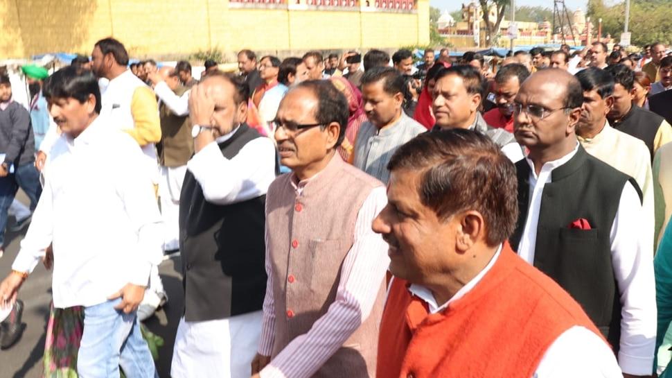 मध्यप्रदेश में विधानसभा अध्यक्ष चुनाव के दौरान हंगामा, भाजपा का बहिर्गमन