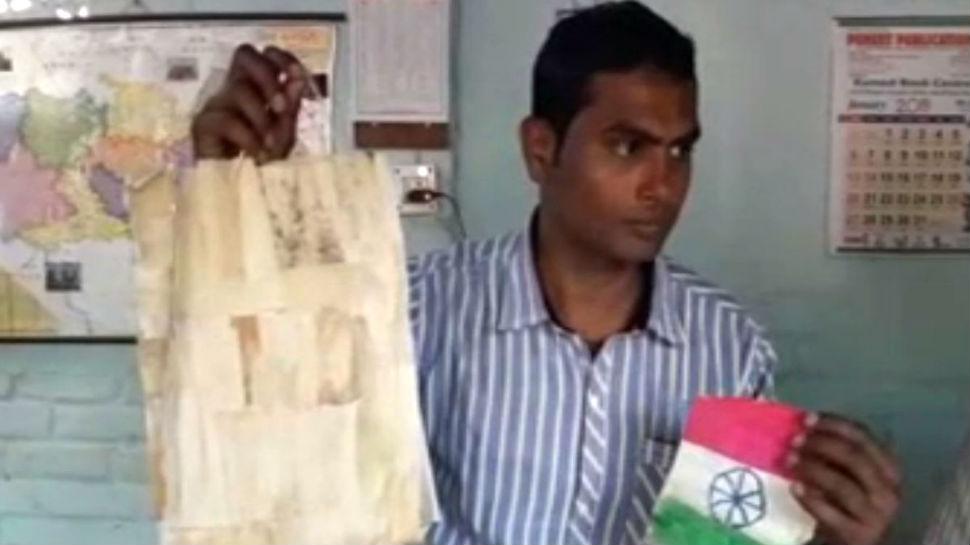 प्लास्टिक बैनः मक्के के छिलके से बना डाला बैग, लाखों की नौकरी छोड़ लिया था संकल्प