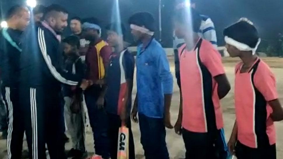 लाल आतंक का जवाब क्रिकेट से, आजादी के बाद नक्सलगढ़ में पहली बार फ्लड लाइट मैच