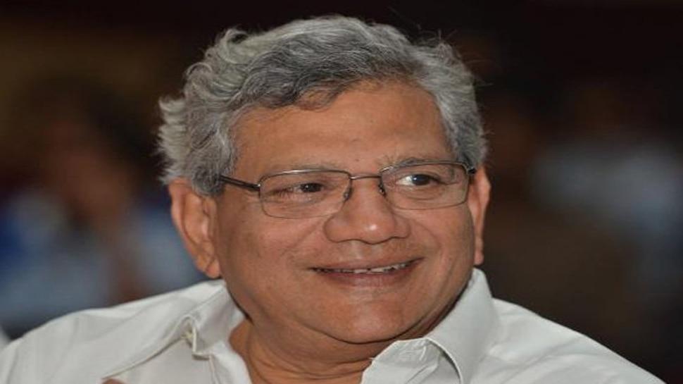 लालू यादव से मिले सीताराम येचुरी, कहा- देश में बनानी है BJP मुक्त सरकार