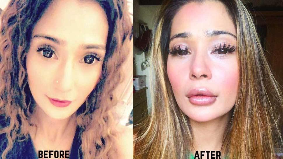 Shocking : टीवी एक्ट्रेस सारा खान ने कराई 'लिप सर्जरी', फैंस कर रहे ट्रोल