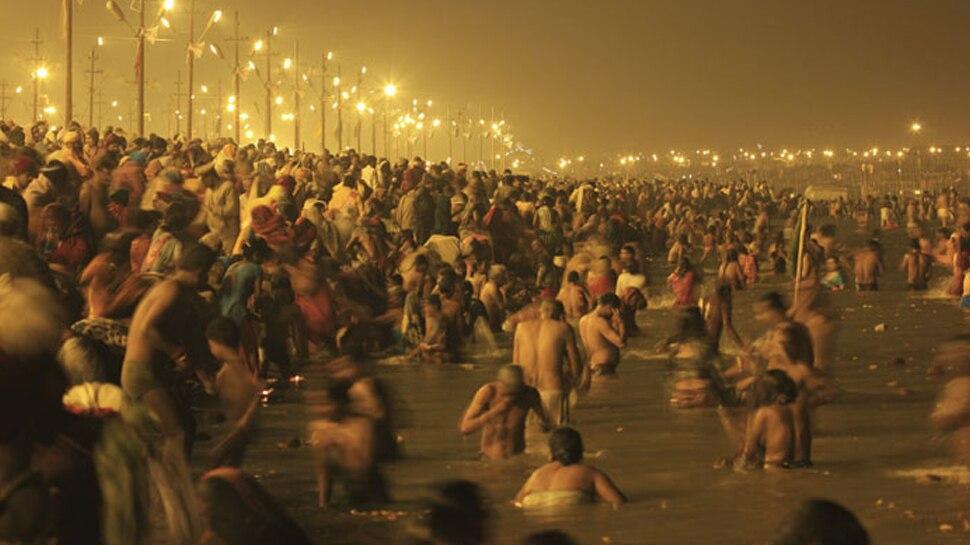 प्रयागराजः कुम्भ मेले में 3डी प्रोजेक्शन मैपिंग के जरिए समुद्र मंथन देख सकेंगे श्रद्धालु