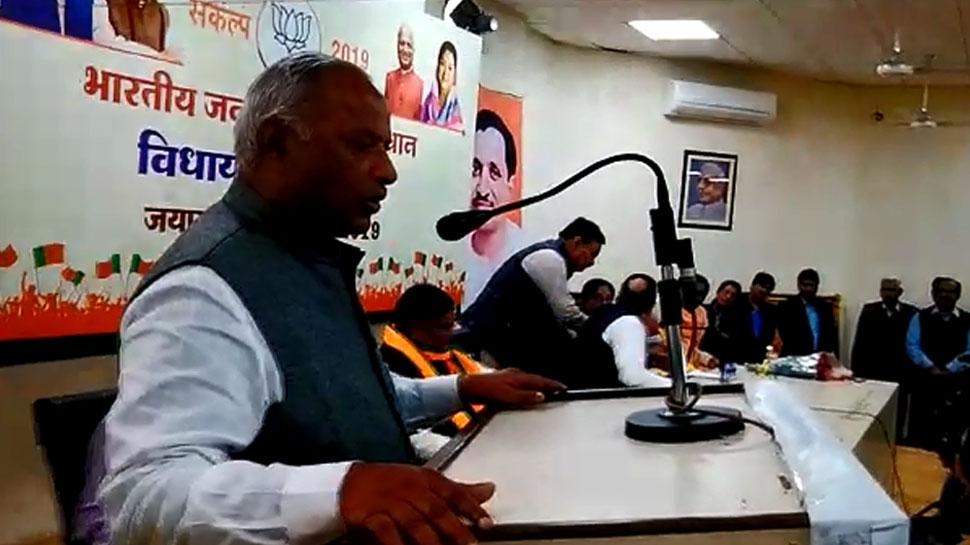 एकजुटता दिखाने के लिए हुई BJP की बैठक, लेकिन नेताओं को रास नहीं आया सैनी का भाषण