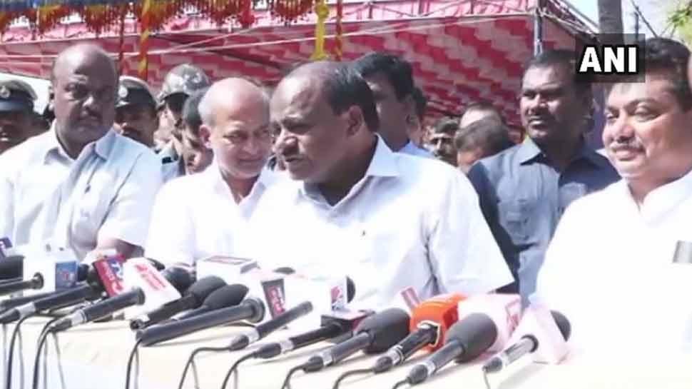 हमारी सरकार को कोई खतरा नहीं है, BJP चाहे जितना जोर लगा ले मैं सब संभाल लूंगा : CM कुमारस्वामी