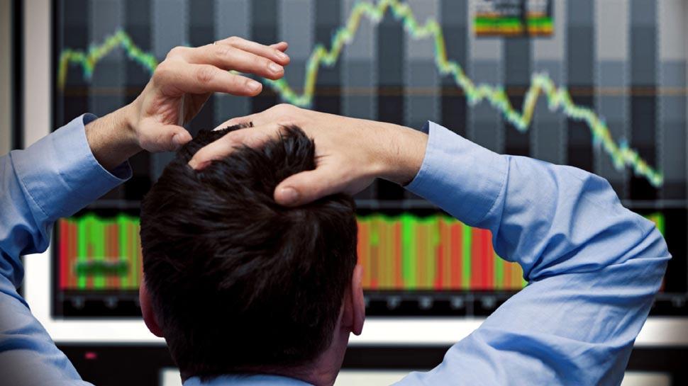 विदेशी निवेशकों की बिकवाली और आर्थिक आंकड़ों की कमजोरी से शेयर मार्केट धड़ाम