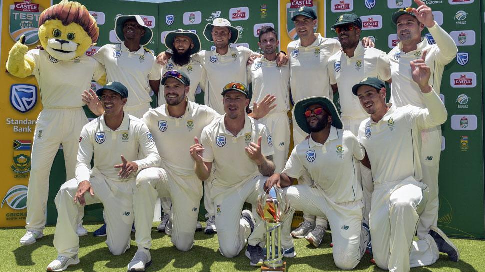 पाकिस्तान का सूपड़ा साफ, दक्षिण अफ्रीका ने तीसरे टेस्ट में 107 रन से हराया