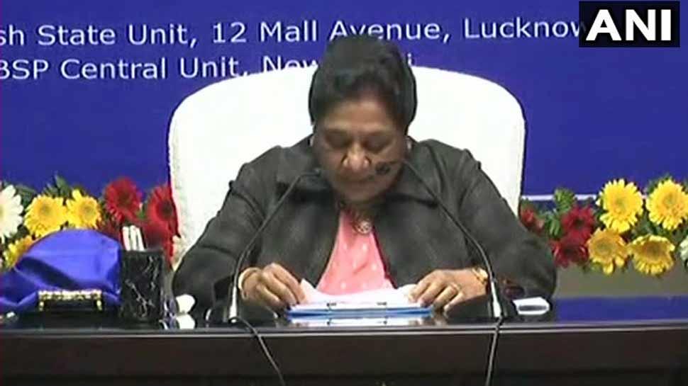 SP-BSP को भुलाने होंगे पुराने मतभेद, देश का अगला PM यूपी की जनता तय करेगी: मायावती