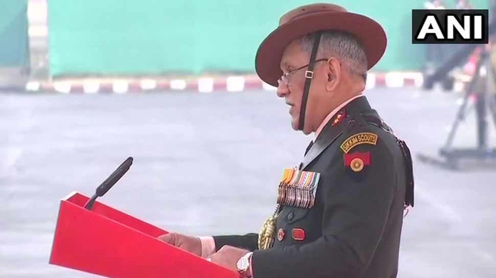 Army Day: सेना प्रमुख की दो टूक, 'सीमा पर आतंकियों के खिलाफ बड़ी कार्रवाई करने से नहीं चूकेंगे'