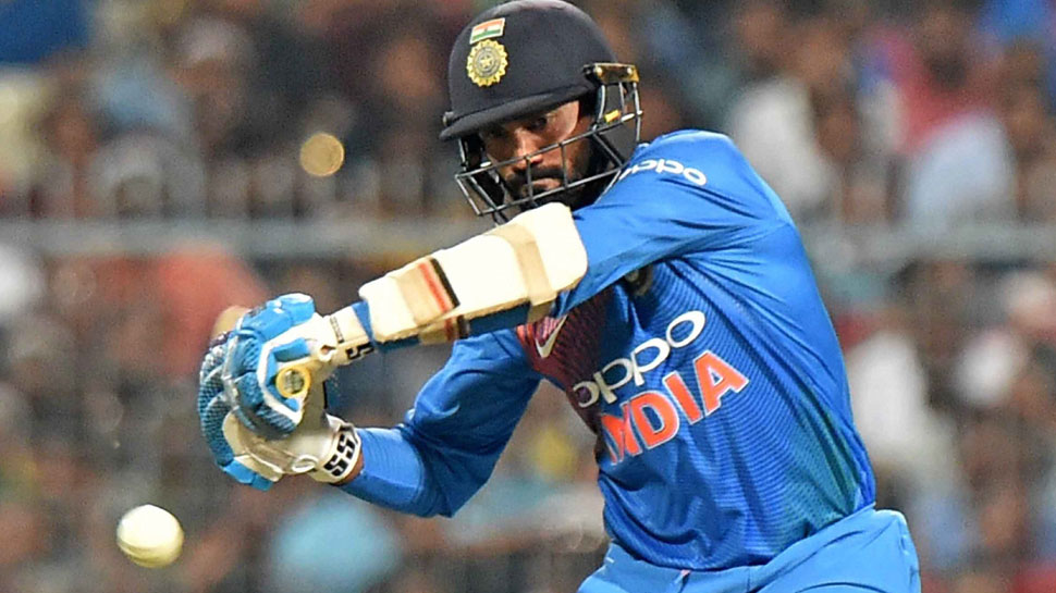 feel good to batting with Dhoni: Karthik