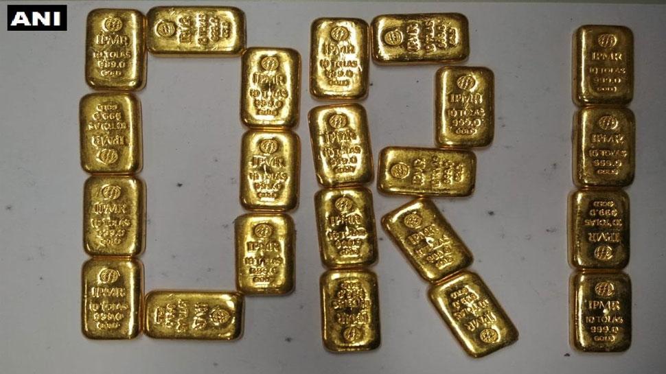 6.8 करोड़ की कीमत के सोने के साथ 4 गिरफ्तार, दुबई-श्रीलंका से तस्करी कर ला रहे थे भारत