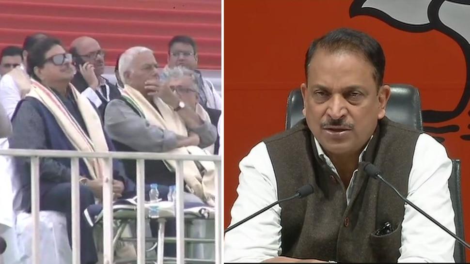 ममता बनर्जी की रैली में शामिल हुए शत्रुघ्न सिन्हा, BJP ने दिए कार्रवाई के संकेत