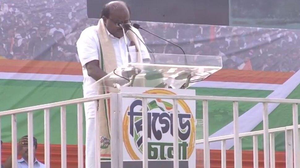 BJP पर एच. डी. कुमारस्वामी का तंज- 'अलोकतांत्रिक लोग लोकतांत्रिक सरकार के प्रमुख'