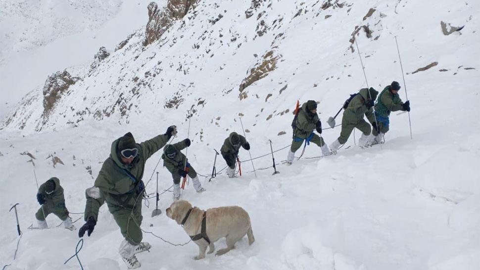 लद्दाख हिमस्खलन : दो और शव बरामद, मृतकों की संख्या सात हुई