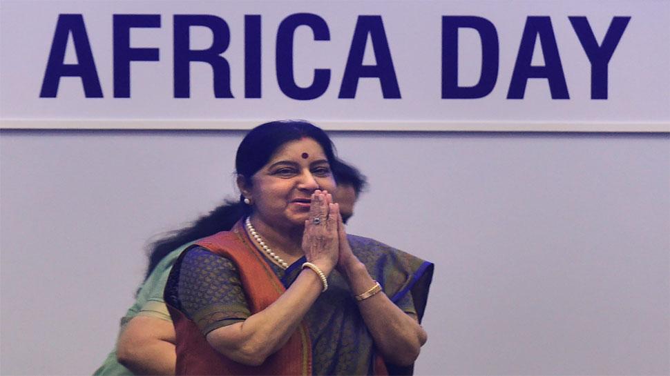 प्रधानमंत्री ने अफ्रीकी देशों को 'शीर्ष प्राथमिकता' में शामिल किया : सुषमा स्वराज