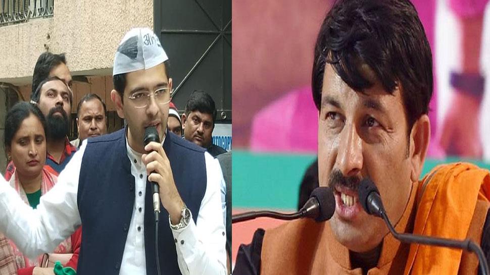 दिल्ली की मतदाता सूची को लेकर BJP और आप के बीच जुबानी जंग