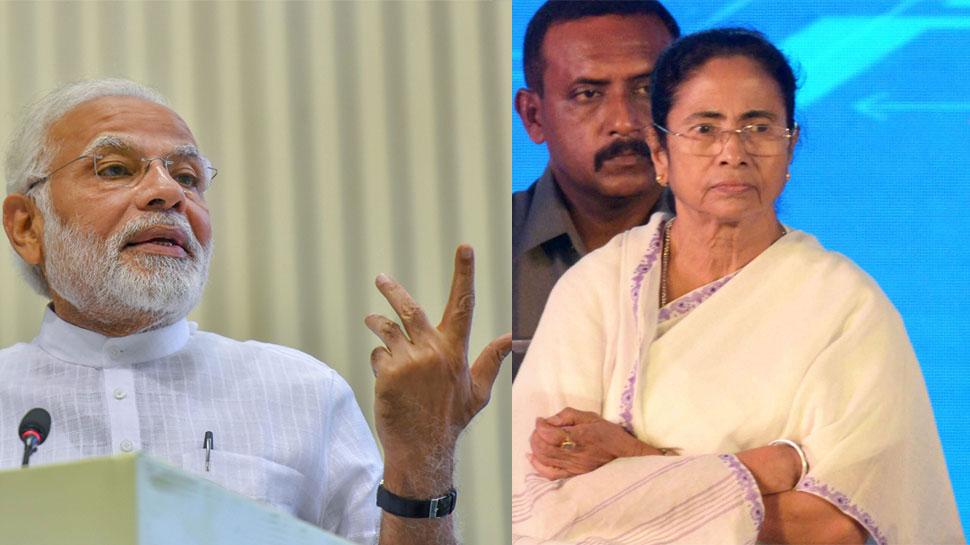 ममता की मेगा रैली पर PM का वार, 'महागठबंधन' नरेंद्र मोदी के खिलाफ नहीं बल्कि लोगों के खिलाफ है
