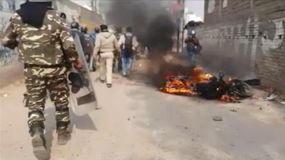 पटना : जमीन खाली कराने के दौरान हंगामा, पथराव में 12 पुलिसकर्मी चोटिल