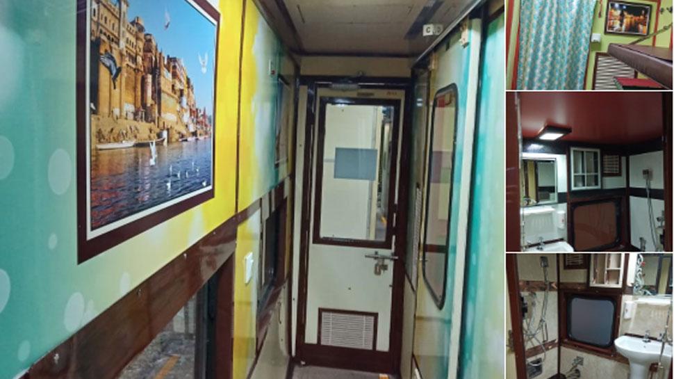 पीएम मोदी के संसदीय क्षेत्र वाराणसी से दिल्ली के बीच शुरू हुई शानदार ट्रेन, देखें नया लुक