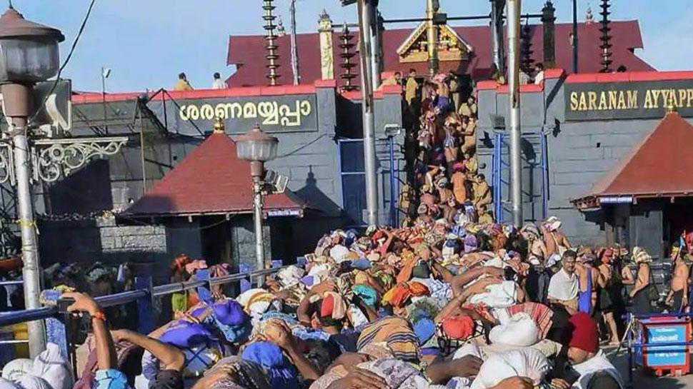 सबरीमाला: तीर्थयात्रा सीजन के बाद भगवान अयप्पा का मंदिर किया गया बंद