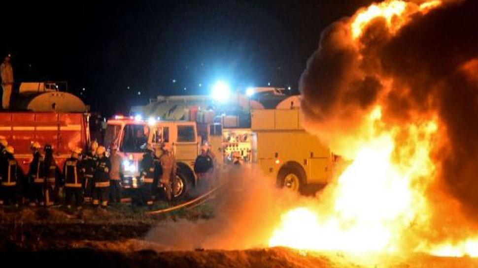 मैक्सिको में ईंधन पाइपलाइन में लगी आग, 79 लोगों की मौत