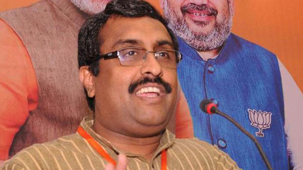 पीएम मोदी को चुनौती देने का विपक्ष में किसी के पास साहस और क्षमता नहीं : राम माधव