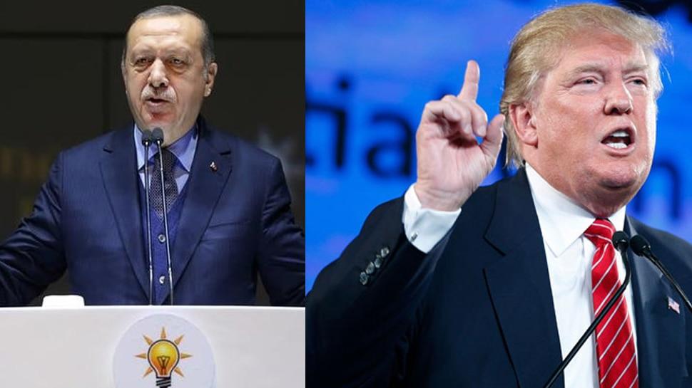 उत्तरपूर्वी सीरिया पर बात-चीत के जरिए समाधान की तलाश में ट्रम्प और एर्दोआनः व्हाइट हाउस