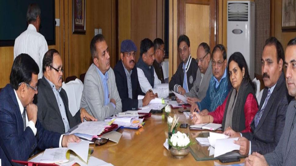 राजस्थान: मुख्य निर्वाचन अधिकारी की संभागीय आयुक्तों के साथ सोमवार को हुई बैठक